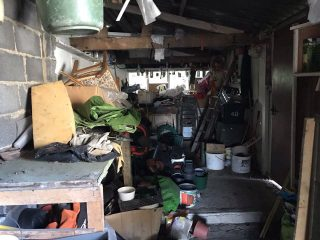 Garage Clearance Dartford DA3 - Before