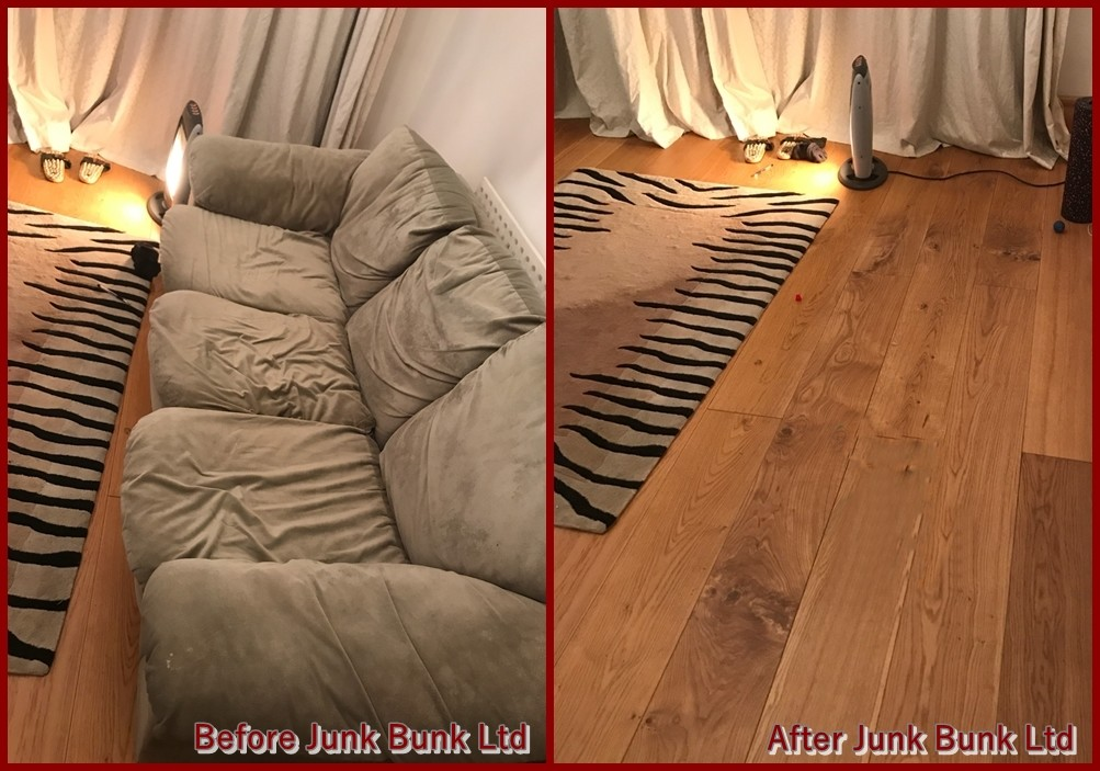 old sofa disposal