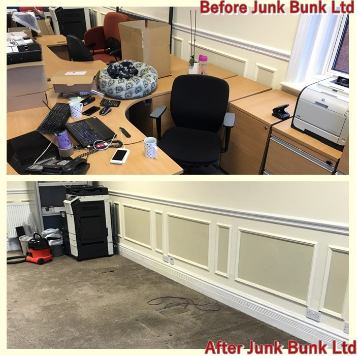 Old Office Furniture Removal and Disposal – London