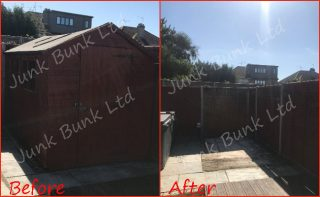 Shed Removal Staines-Upon-Thames TW18, London