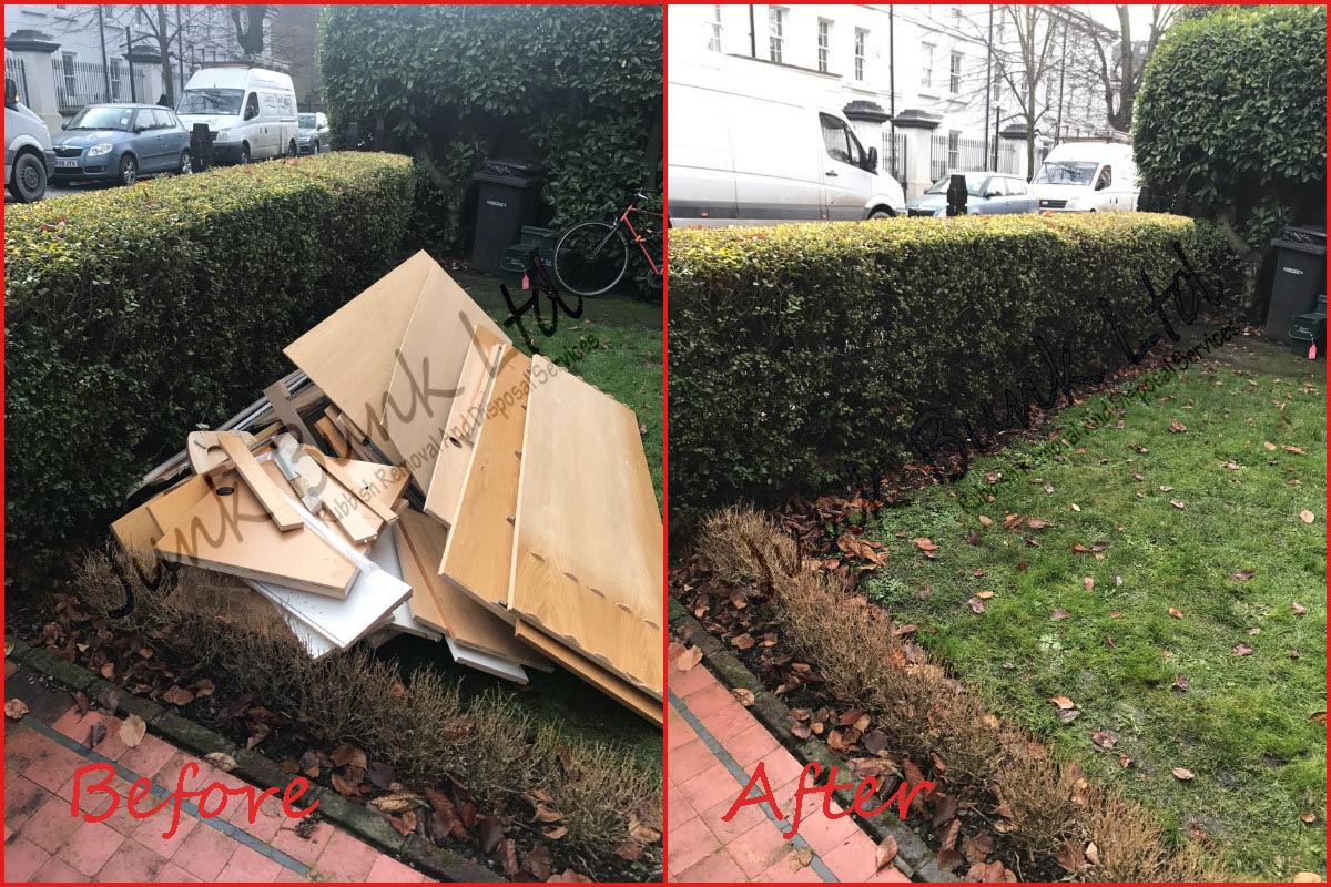 Rubbish Removal Ilford IG1 IG2 IG3