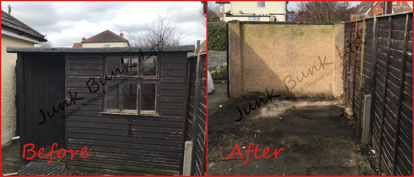 Shed Removal and Disposal in London