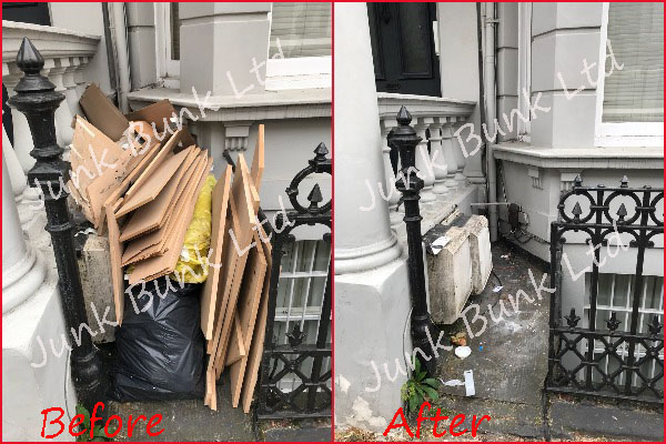 Rubbish Removal West Kensington W14