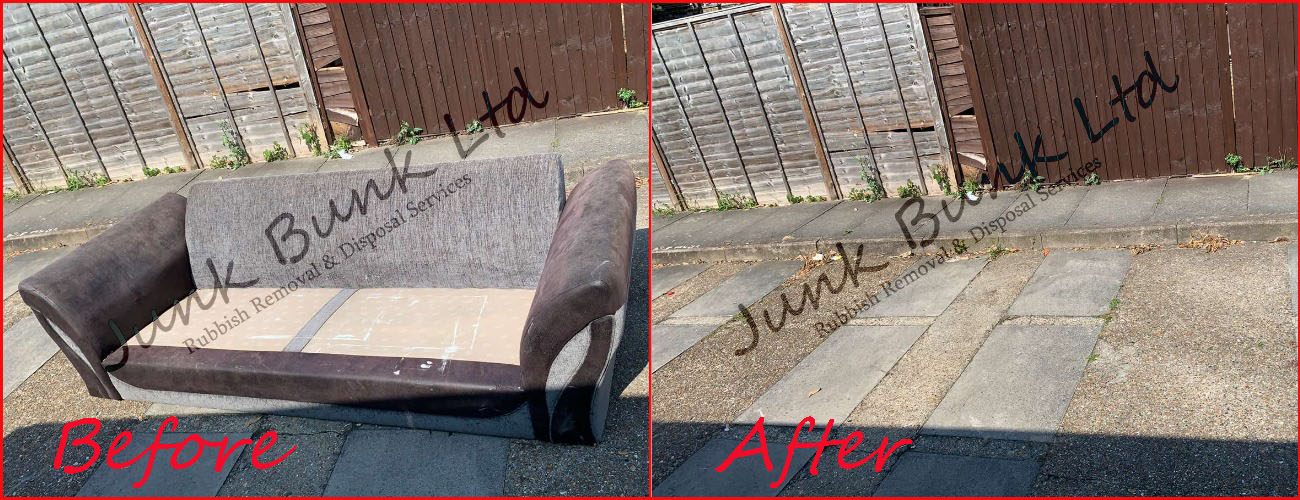 Old sofa removal London